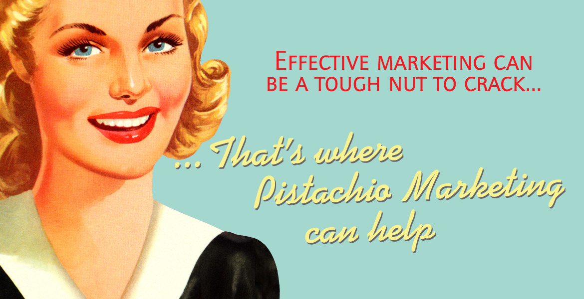 Effective marketing in the property business can be a rough nut to crack... That's where Pistachio Marketing can help.